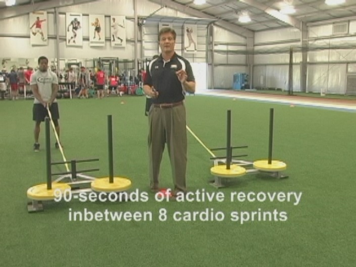 Click here to see Sprint 8 with sleds and elliptical trainer